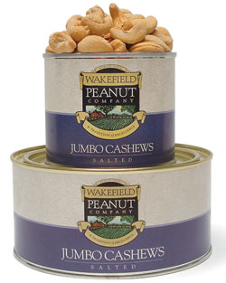 SALTED CASHEWS 22oz
