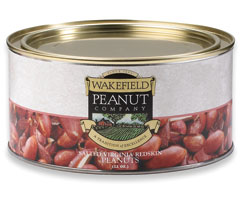 SALTED REDSKINS 22 OZ. TIN