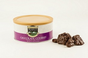 CHOCOLATE COVERED PEANUT BRITTLE 22oz