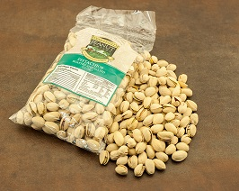 PISTACHIOS, SALTED (in shell) 12oz bag