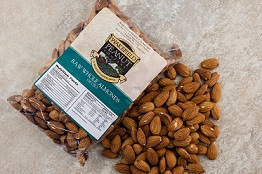 RAW ALMONDS 1lb bag